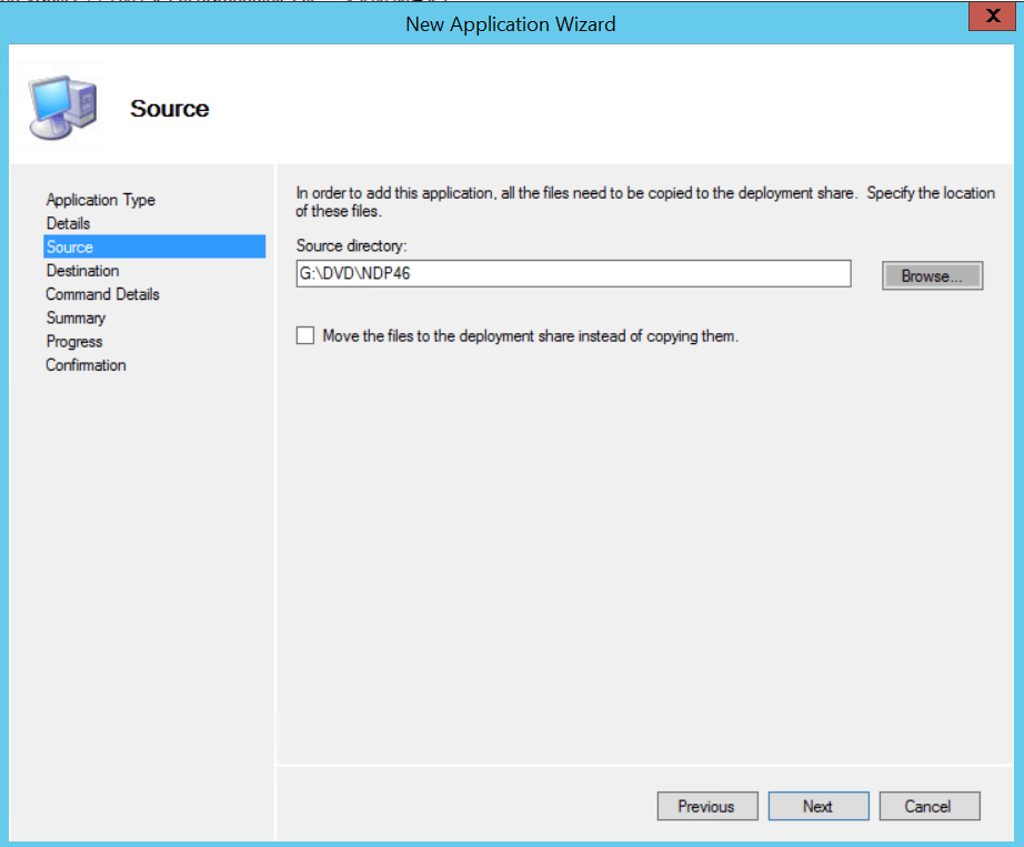 MDT Build And Capture With .net 4.6