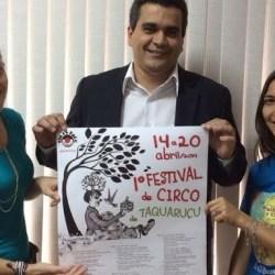 Prefeitura de Palmas é parceira do 1º Festival de Circo de Taquaruçu