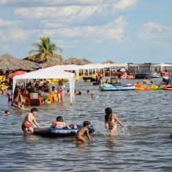 Todas as praias de Palmas estão próprias para recreação segundo análise de balneabilidade