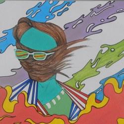 Artista plástico mescla surrealismo e pop art em telas