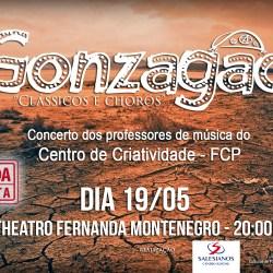 """Concerto temático """"Gonzagão"""" acontece no Theatro Fernanda Montenegro"""