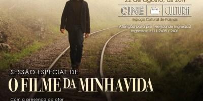 """Sessão especial de """"O Filme da Minha Vida"""" no Cine Cultura"""