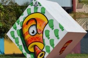 Exposição Seres, de Nacca (SP), segue no Sesc Arte ao Cubo