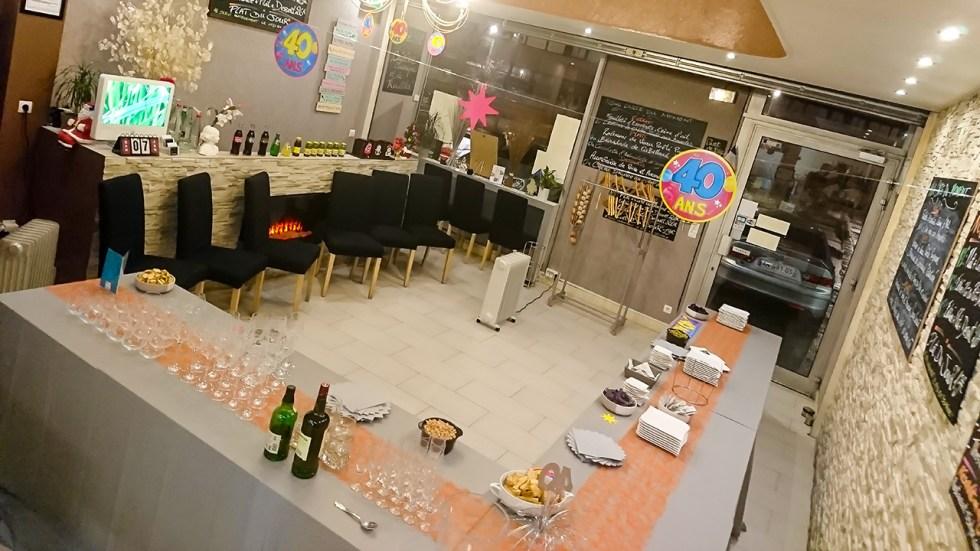 Buffet cocktail dinatoire