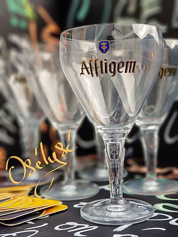 Verres à bière AFFLIGEM 50CL