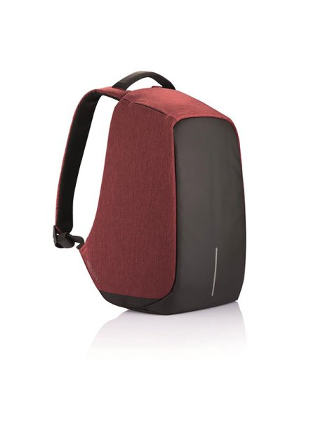XD Design - Bobby Sac à dos antivol avec Port USB, Rouge (Unisex)