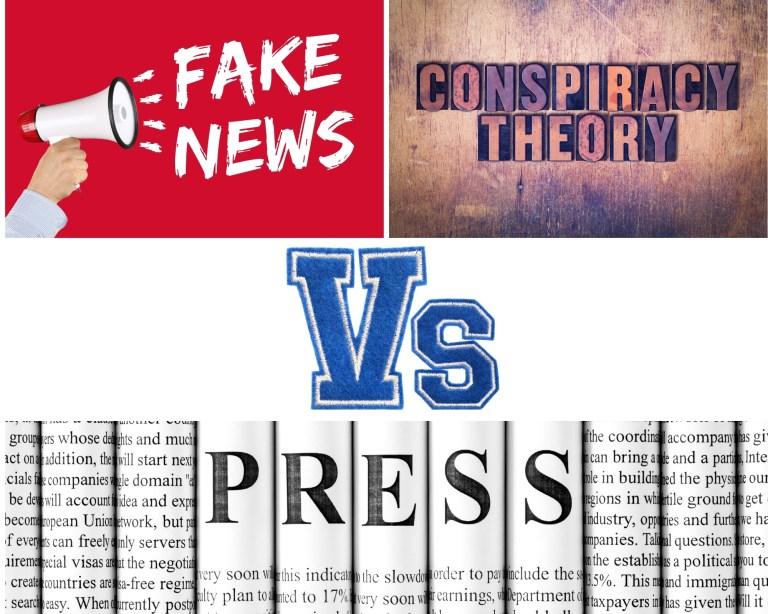 """""""Complotisme"""" et """"fake news"""" chez les médias : des concepts dénaturés et abusifs."""