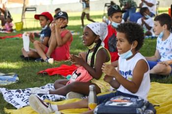 Crianças dos bairros Forte da Bela Vista, Manteigadas e Quinta de Santo António
