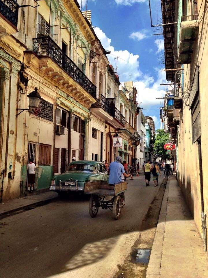 La Vieille Havane à Cuba