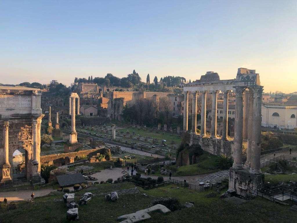 Mon immersion italienne de 3 semaines à Rome – Forum Romain