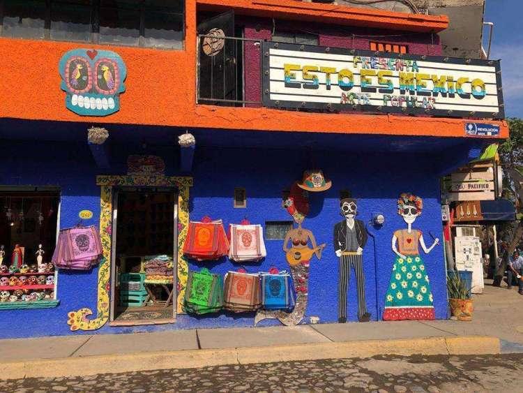 Village de Sayulita au Mexique