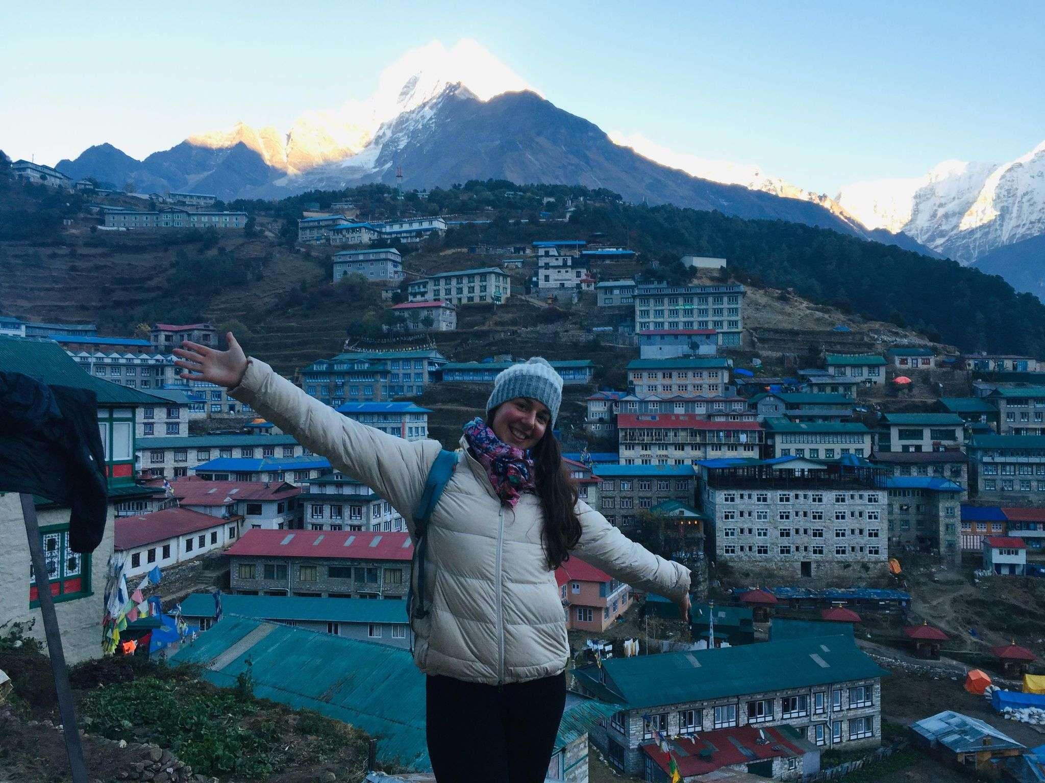 Trek de l'Everest : le parcours de Magali