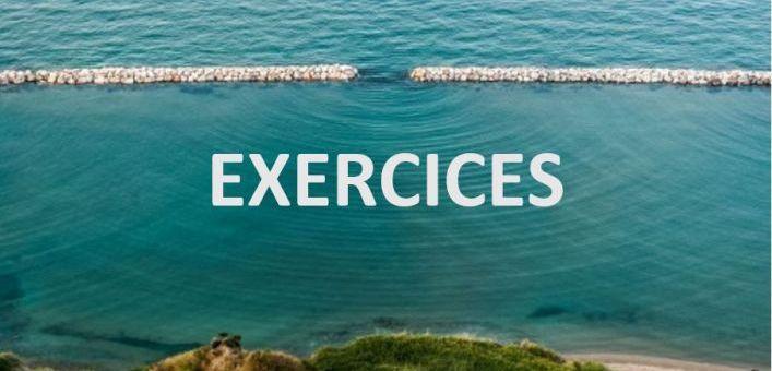 Diffraction des ondes par une fente – Exercices