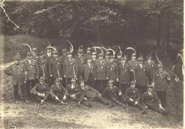 Das Unteroffiziers-Korps im Jahre 1928 am Schützenplatz ARCHIV: Werner Höltke