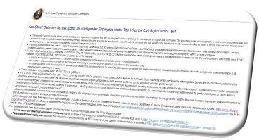 EEOC Fact Sheet