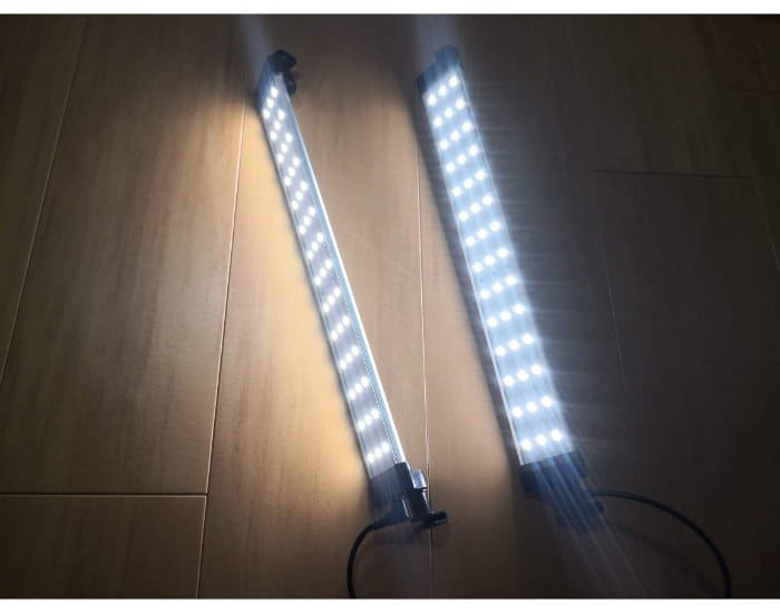 SAMTIANに付属してあるLED照明