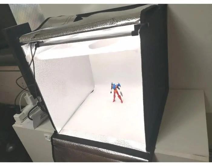 SAMTIANの撮影ボックスF40