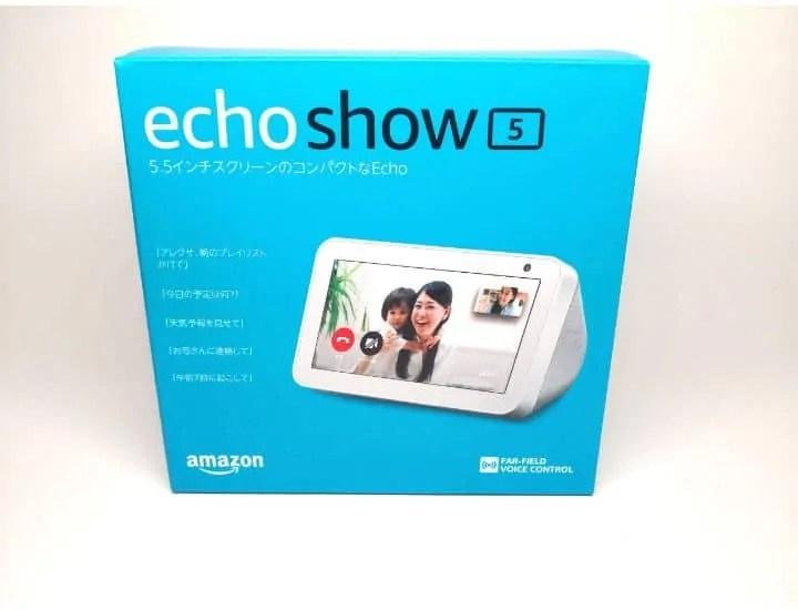 echo show 5パッケージ