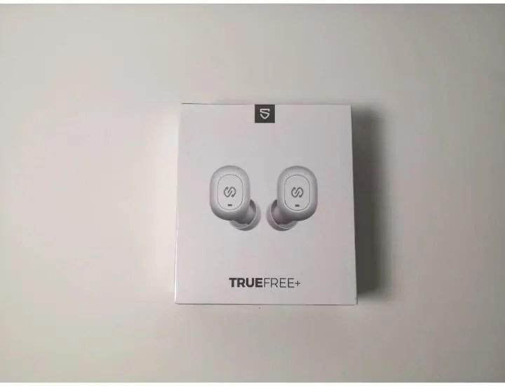 Soundpeats TRUEFREE+の外箱