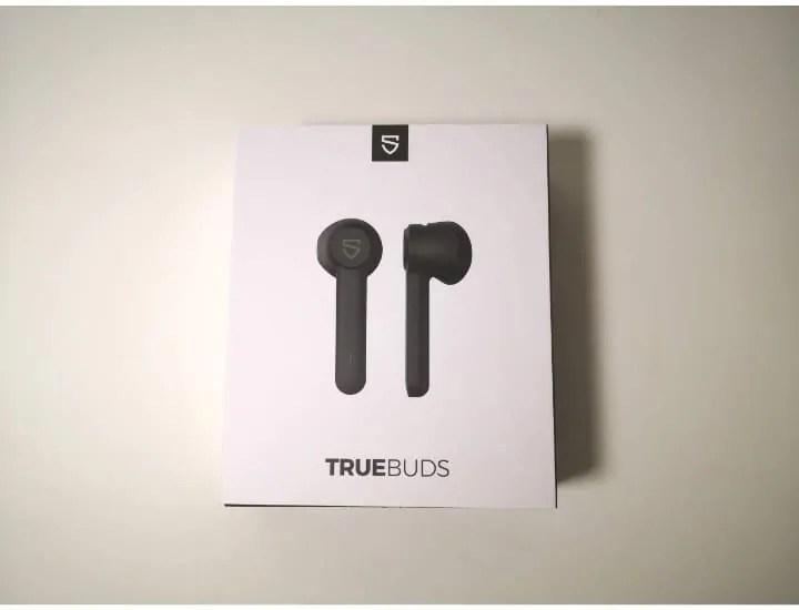 Soundpeats TRUEBUDSパッケージ外箱外観