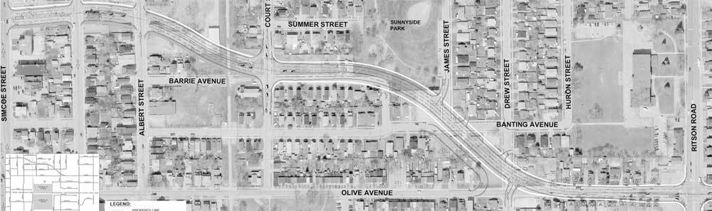 Gibb And Olive Expansion Plans Roll On The Oshawa Express - Map of oshawa streets