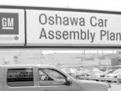 Oshawa Car Assembly Plant