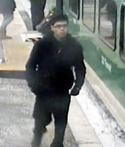 GO train suspect