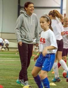 Christine Sinclair, soccer