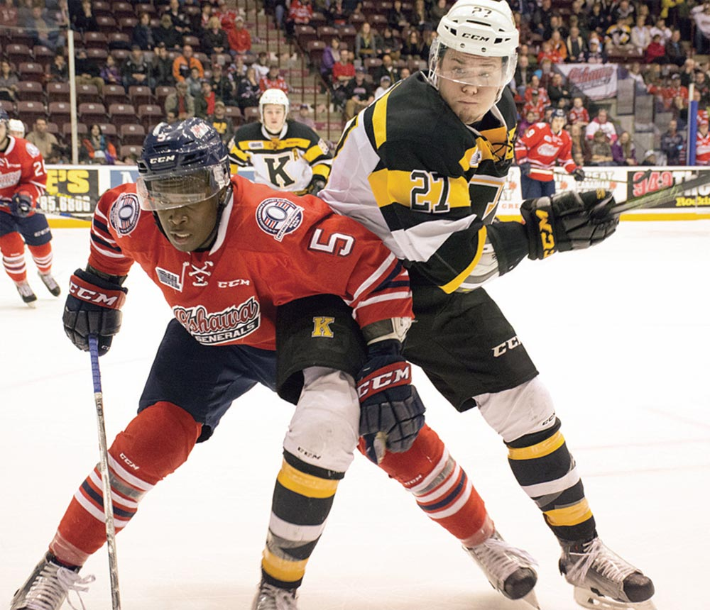Defender Jalen Smereck will be playing closer to home and donning the blue and orange of the Flint Firebirds after being traded by the Oshawa Generals. In exchange for the Michigan native, the Gens received a trio of draft picks.