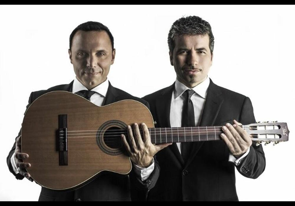 Remigio Pereira (right), formerly with The Tenors, will be performing at the Regent Theatre on Oct. 3 alongside Pavlo Simtikidis.