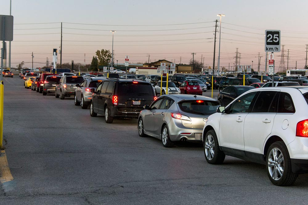 A familiar site on many evenings during the work week, traffic comes to a crawl for cars attempting to leave the GO Transit station. Clarington councillor Joe Neal has called on the region to investigate the possibility of widening the stretch of Bloor Street in front of the station in order to accommodate the volume of traffic.