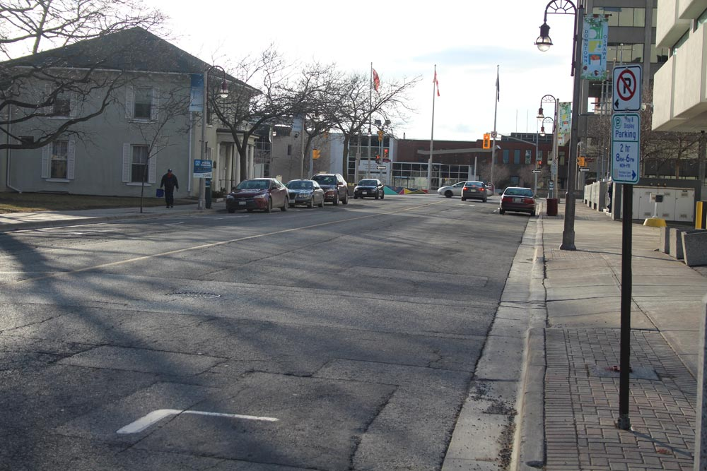 A new cycle track along Athol Street downtown would make it easier for those who take their bikes instead of their cars to get around the city, according to the chair of Oshawa's active transportation advisory committee. The track is part of a number of new measures proposed for downtown improvements in this year's budget.