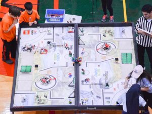 Teams from across the province came out to the FIRST LEGO League eastern provincial championships at Durham College. (Photo by Joel Wittnebel)