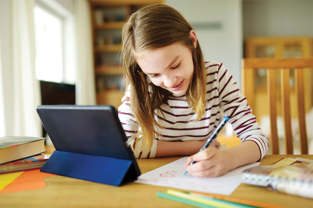 Online learning only for elementary pupils