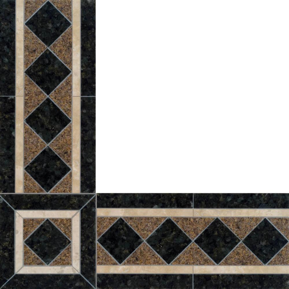 monte carlo stone floor border
