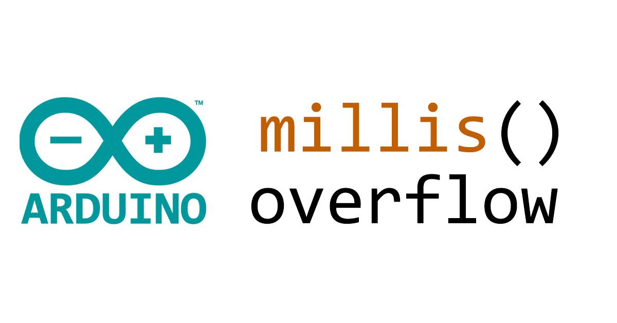 Handle millis() Overflow (Rollover) in Arduino - OSH Lab
