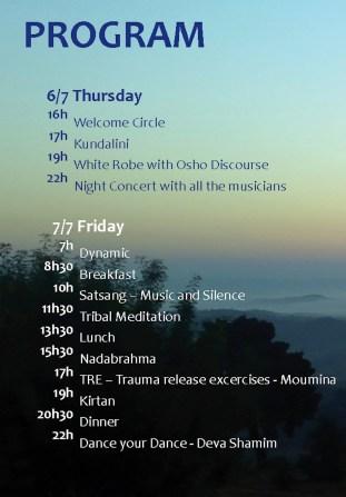 Osho festival 2017 program1