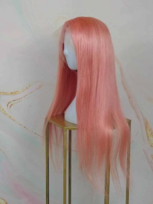 Full Lace Wig Candy Pink 22
