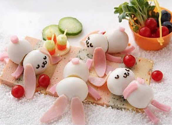 frutas divertidas para niños