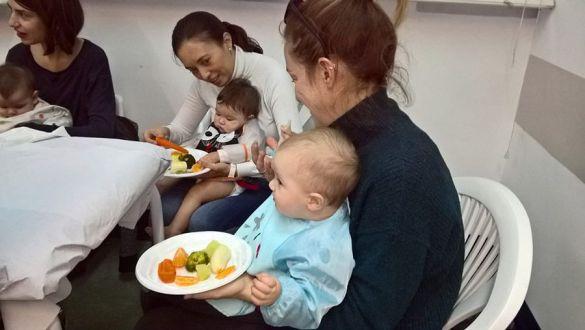 Taller BLW para aprender a comer solito
