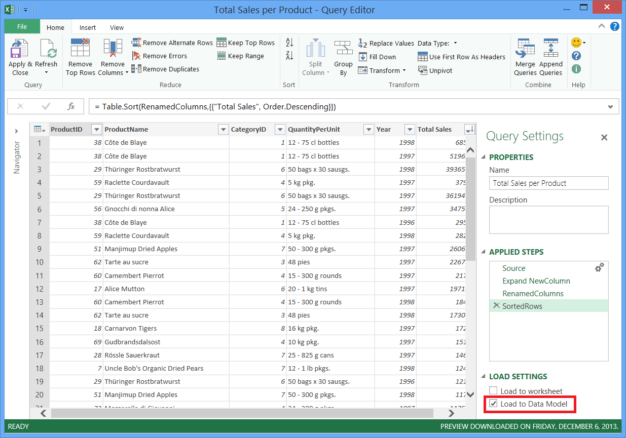 Combine Data From Multiple Data Sources Power Query