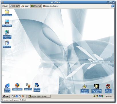 Windows 2000 VM
