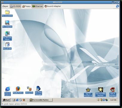 Windows 2000 VM