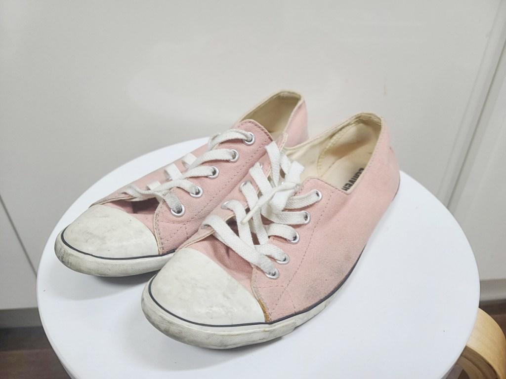 신발 냄새 제거하는 꿀팁,컨버스단화