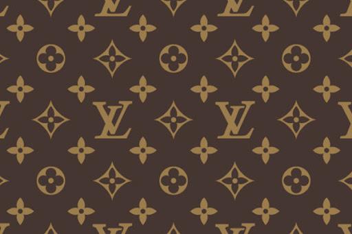 루이비통의 시그니처 모노그램 패턴이다.