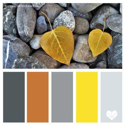 블루그레이, 오렌지, 얼티밋 그레이, 일루미네이팅 컬러로 색의 균형감을 맞추었다.
