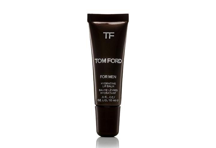 가볍고 편리하게 휴대할 수 있는 남성용 립밤으로 출시된 '톰 포드 포 맨 하이드레이팅 립 밤'의 모습이다.