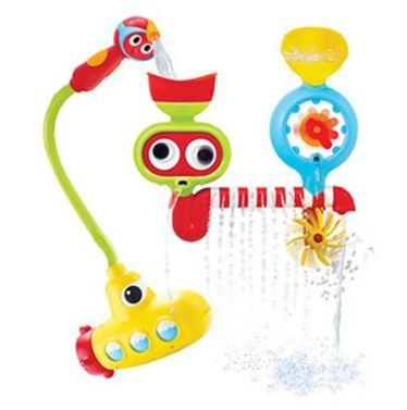 스프링클러, 워터 게이지, 프로펠러 등 다양한 놀이 기구들을 미니멀한 사이즈로 압축시킨 놀이 제품이다.