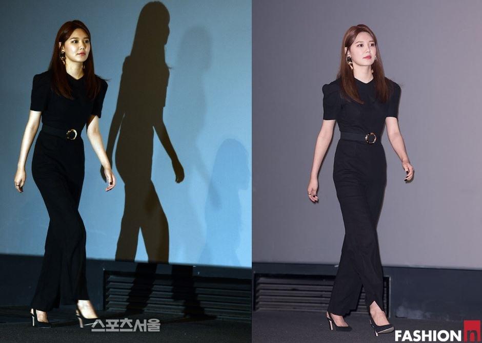 5월의 신부  소녀시대 수영의 올 블랙 룩