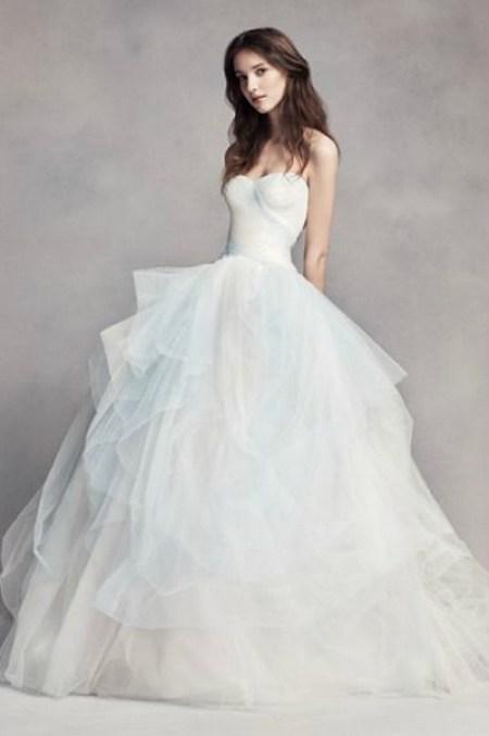 A라인 튤 드레스
